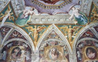 Sala Baganza, Gabinetto dei Cesari